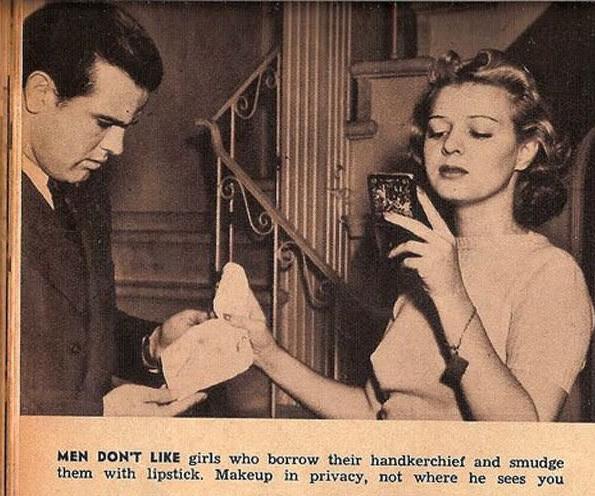 12 conseils sexistes issus des années 30, qui vous apprendront à bien vous comporter en présence d'un homme... Arrachage de cheveux garanti ! (1)