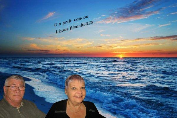 CADEAU RECU et pour MON AMIE BLANCHE