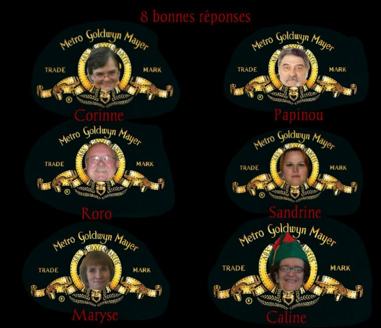 GAGNANTS JEUX : PRENOMS FEMININS