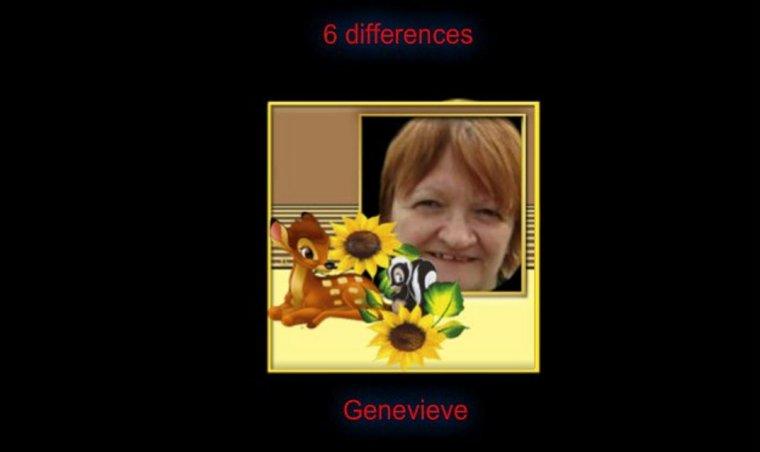 REPONSE JEU DES  DIFFERENCES
