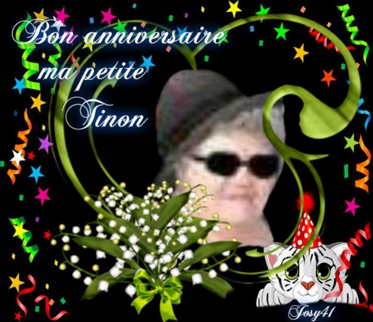 CADEAU ANNIVERSAIRE POUR MON AMIE TINON