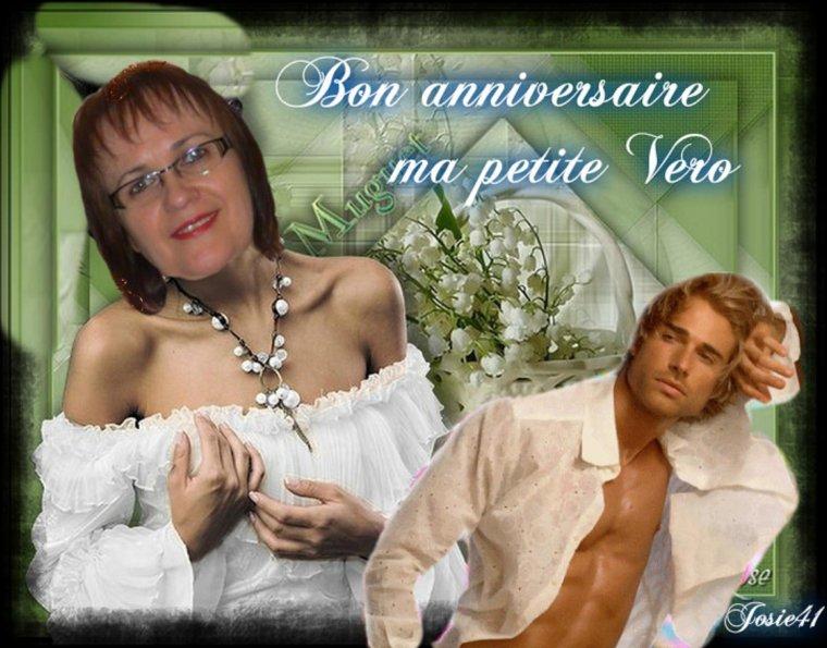 CADEAU ANNIVERSAIRE POUR MON AMIE VERO
