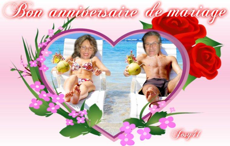 CADEAU D'ANNIVERSAIRE DE MARIAGE POUR MA PATOUNETTE