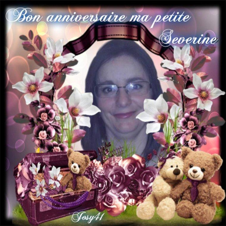 CADEAU ANNIVERSAIRE POUR MON AMIE SEVERINE