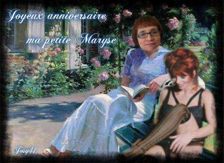 CADEAU ANNIVERSAIRE POUR MON AMIE MARYSE