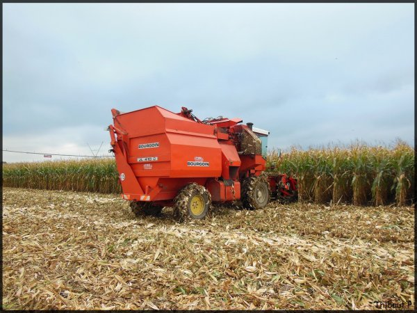 Corn Picker - Bourgoin JL 410 D