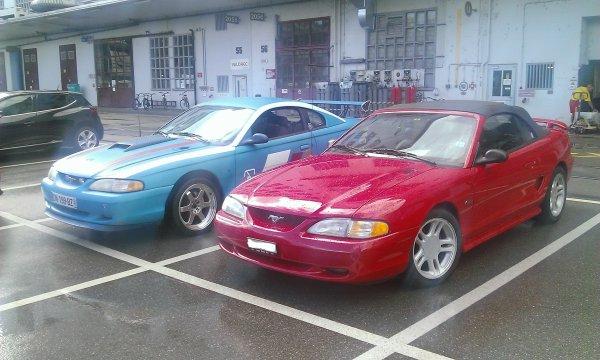 Avec les copines, sur le parking du Taf !