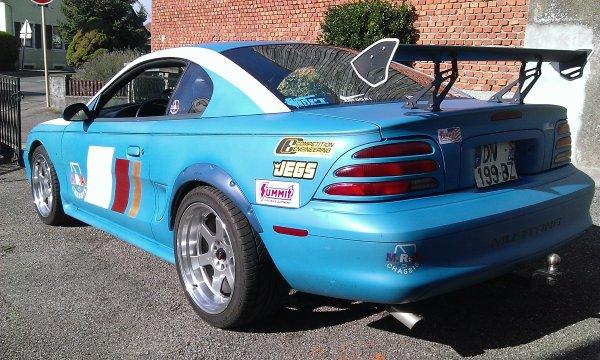 Rabaissement de la Mustang SN 95 et grosse révision moteur