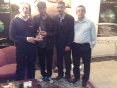 L'equipe amazighsound à gagné le trophée d'issni owourgh dans sa 4 éme edition