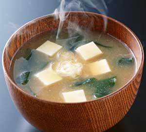 La soupe Miso à la patate douce !!!