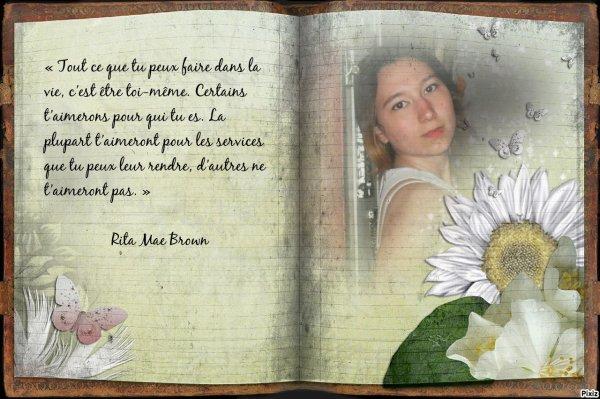 Citation sur la vie.....