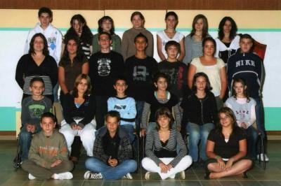 Floriane ==> Sa photo de classe, année 2007.