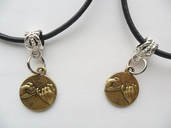 Pinky Promise Swear Best Friends necklace set