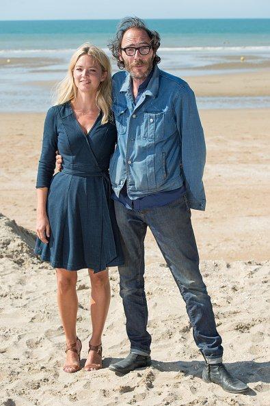 13 Juin 2015 - Virginie Efira, Jean-Pierre Ameris et Philippe Rebbot au 29e Festival du Film de Cabourg