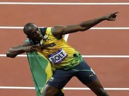 Usain Bolt aux jeux olympiques 2012