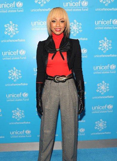 Keri Hilson !   A la cérémonie UNICEF  : Snowflake Lighting