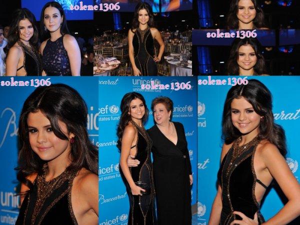 Selena a une soirée au côtés de katy perry  + DOL collection