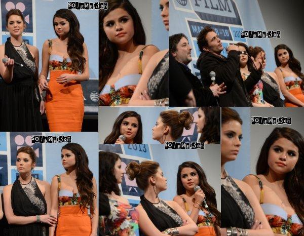 ♥ Selena  Le 08/03/13 & Le 10/03/13 & autres