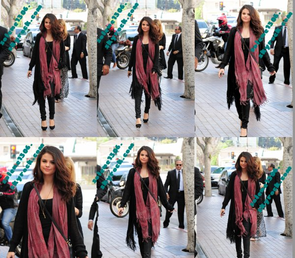 selena arrivant au studio NBC + Photo personnel + Photoshoot come and get it + performence + Taylors swifft et selena gomez : INFOS !