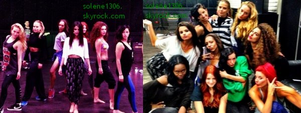 Selena répetant au MTV movies award + Photo de selly peu avant les mtv movies award+ video + fans + Photoshoot