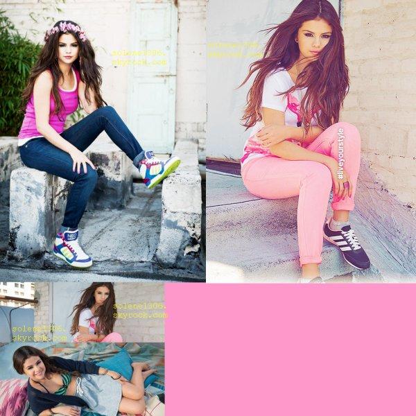 selena gomez : Adidas neo + Candid + photo perso.