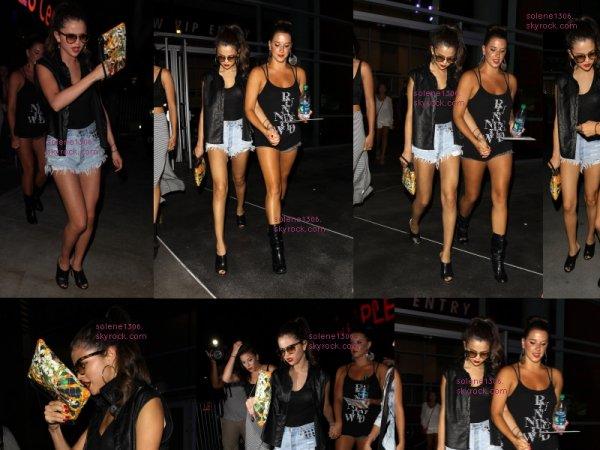 Selena au concert de Beyoncé...... RIP CORY MONTEITH alias Finn Hudson