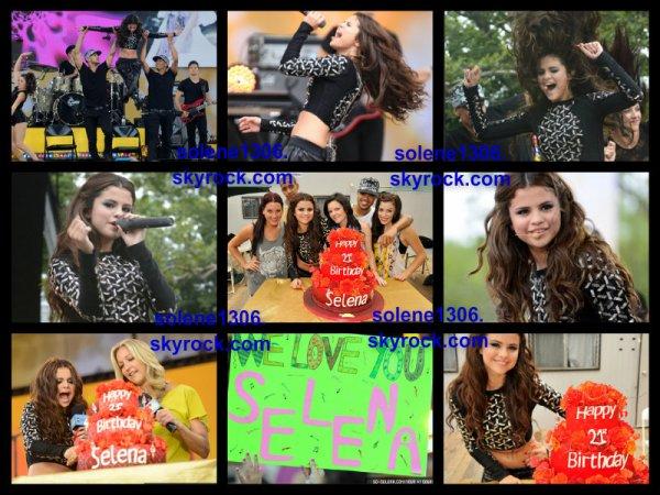 Selena a good morning america et ....