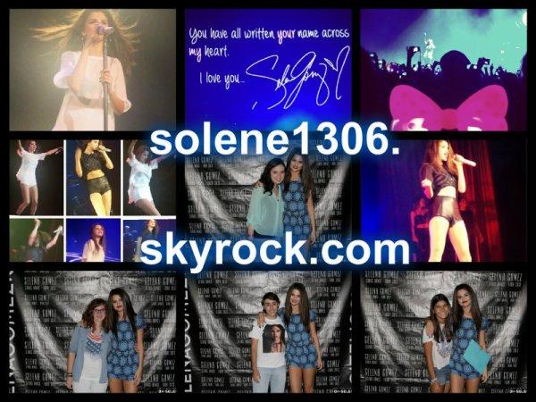 Le 05 septembre 2013 : Selena a NRJ