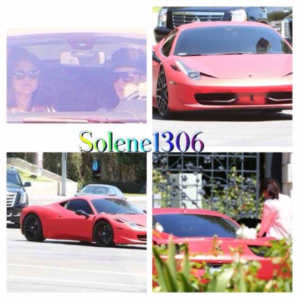 Ice Bucket Challenge || Selena Gomez en compagnie de Justin Bieber.