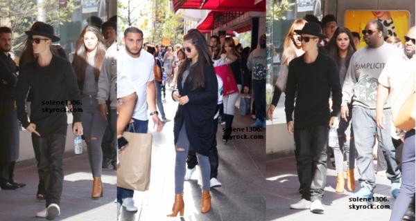 Selena et Justin au Canada || Stills and Vidéos ♫