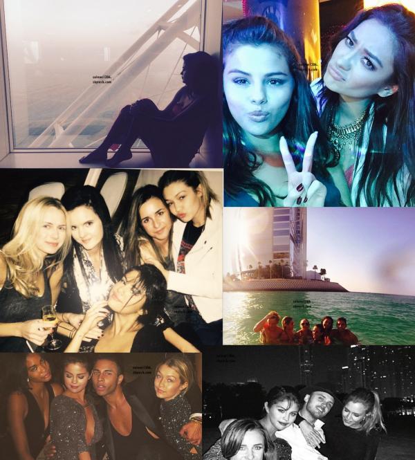 Selena prend un vol pour Dubaï || De nouvelles photos personnelles ♥