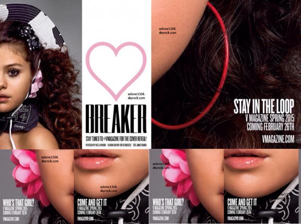 Photoshoot pour V Magazine || Event, affiche de film et jolie musique ♥