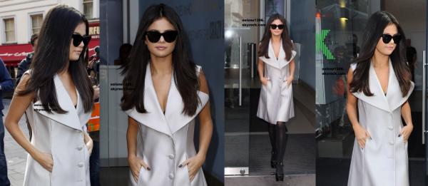 Selena dans plusieurs radios à Londres, un beau shoot et des belles sortis ! ♥