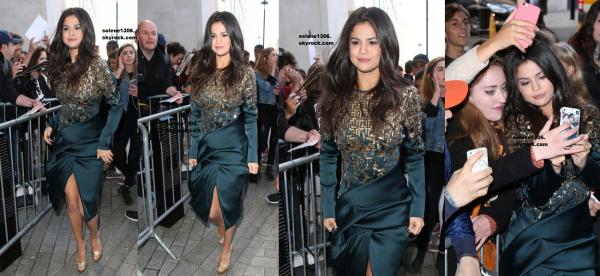 Selena dans Londres et Paris + Quelques informations ! ♥