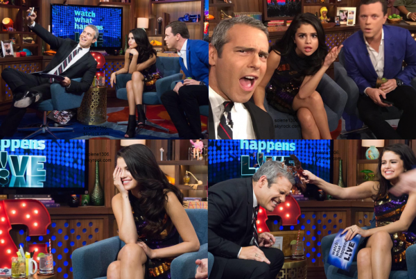 Candids de notre jolie Selena ♥ || Emission et Radio ! ♥