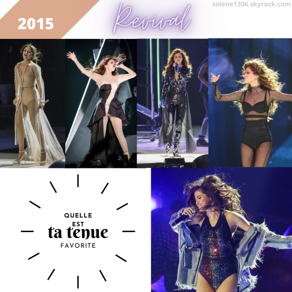 Résumé des tournées de Selena de 2009 à 2015.