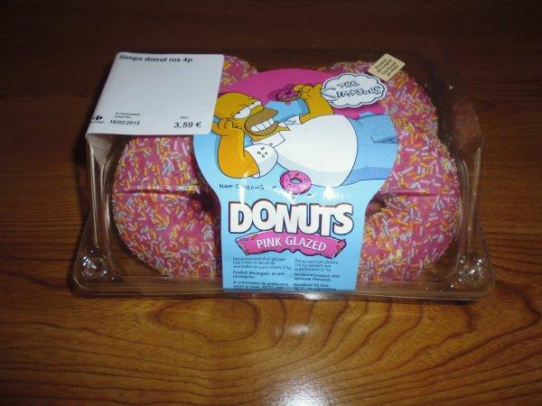 "Donuts ""Les Simpson"""
