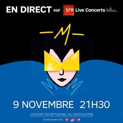 Concert au 104