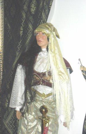 L'habit traditionnel de fête la femme Mostaganemoise