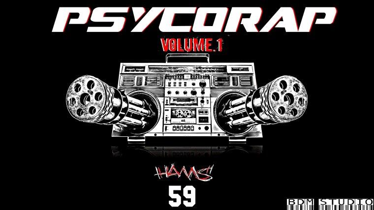Psycorap VOL.1 / HAMS feat KRIMO_Pas d'taille (2012)