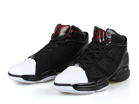 df1e0edd5d03 Adidas AdiZero Rose 1.5 Black White Red - Zhushine s Blog