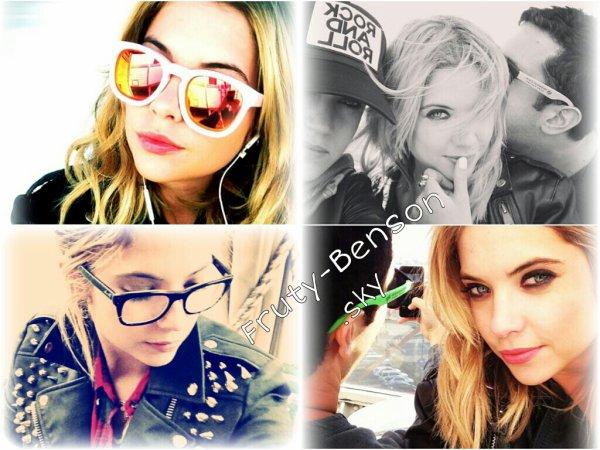 Nouvelles photos du Instagram d'Ashley .