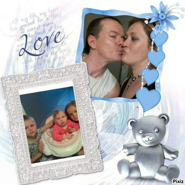 Ma raison vivre mais amour de ma vie je vous aimes plus que tout