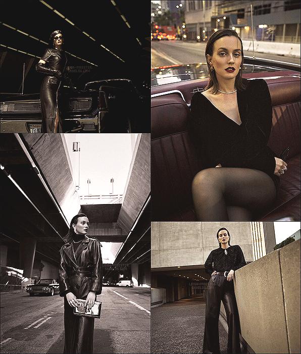 """_  _'Découvrez le nouveau photoshoot de Leighton pour """"Porter Magazine"""", édition septembre 2018. _"""