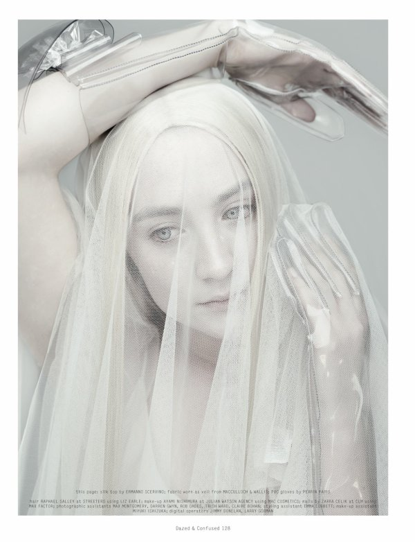 "Photoshoot de Saoirse Pour le magazine ""Dazed & Confused"""