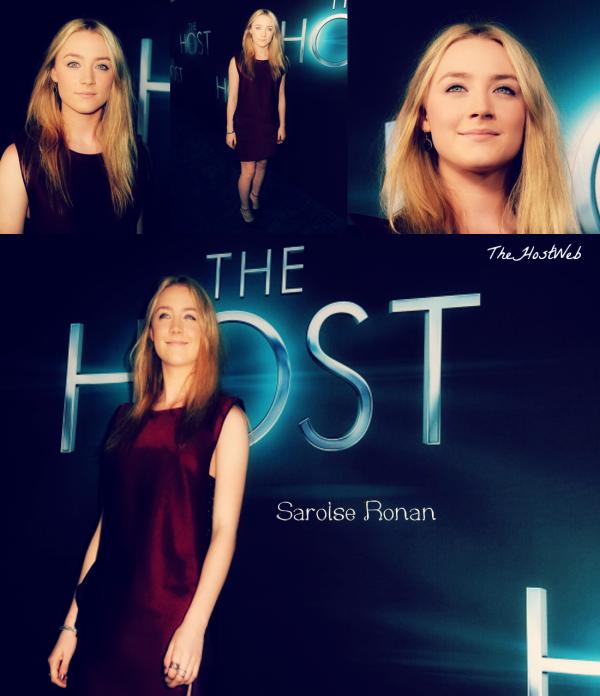 """Avant-Première de """"The Host"""" à Los Angeles ! (photos De Saoirse Ronan)"""