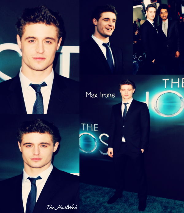"Avant-Première de ""The Host"" à Los Angeles ! (photos De Max Irons & Jake Abel)"