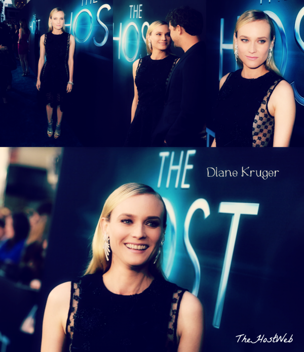 """Avant-Première de """"The Host"""" à Los Angeles ! (photos De Diane Kruger)"""