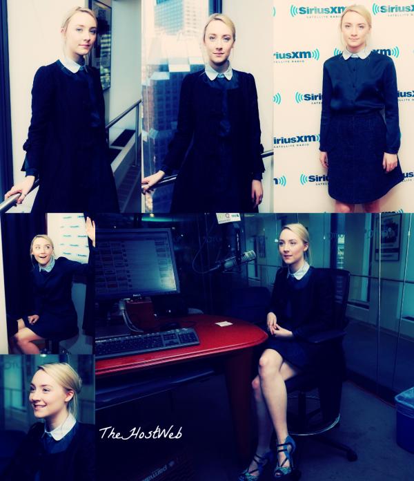 "Saoirse Ronan a la Radio ""SiriusXM"""