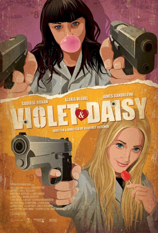 """3 nouveaux Stills + 1 poster du nouveau film de Saoirse """"Violet & Daisy"""""""
